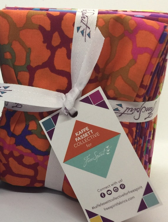 "SPRING 2018 BRIGHT 20 FQ Pack Kaffe Fassett Collective Fq = 18"" x 22"" each"
