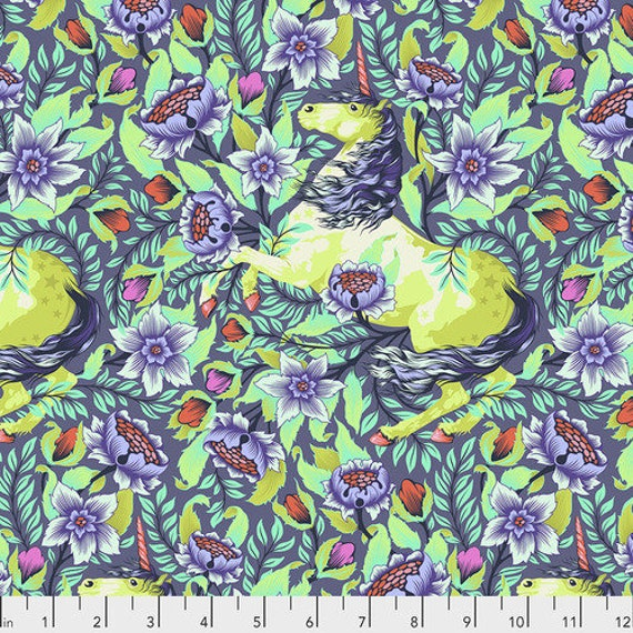 IMAGINARIUM DAYDREAM Pinkerville  by Tula Pink - Sold in 1/2 yard units - Multiple units cut as one length