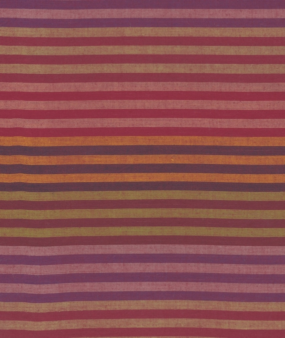 CATERPILLAR WOVEN Stripe EARTH water.earth Kaffe Fassett  1/2 yd - Multiples cut continuously  Multiples cut as one length