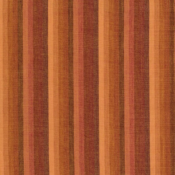 MULTI STRIPE TOAST Woven  by  Kaffe Fassett fabric sold in 1/2 yard increments