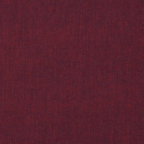 "FQ 18"" x 22"" SHOT COTTON Bordeaux Wine Kaffe Fassett  - Multiples cut as yardage"