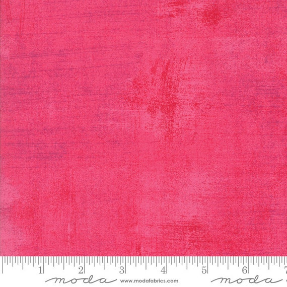 1/2 yd PARADISE PINK GRUNGE Moda Basics 30150 328 - Sold in 1/2 yd increments - Multiple units cut as one length
