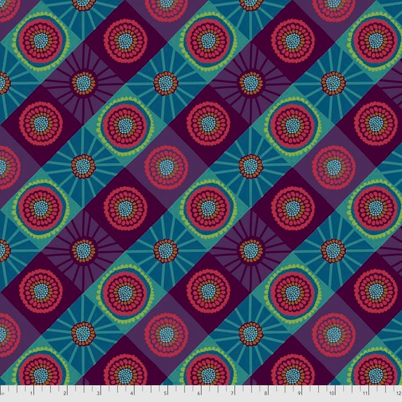 1/2 yd COSMOS MOUNTAIN - Bright Eyes by Anna Maria Horner PWAH155.MOUNTAIN  Sold in 1/2 yd increments - Multiples cut as one length