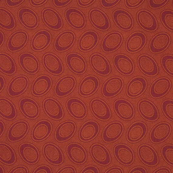 ABORIGINAL DOT in Pumpkin GP71   Kaffe Fassett Collectives - Sold in 1/2 yd increments - Multiple units cut as one length
