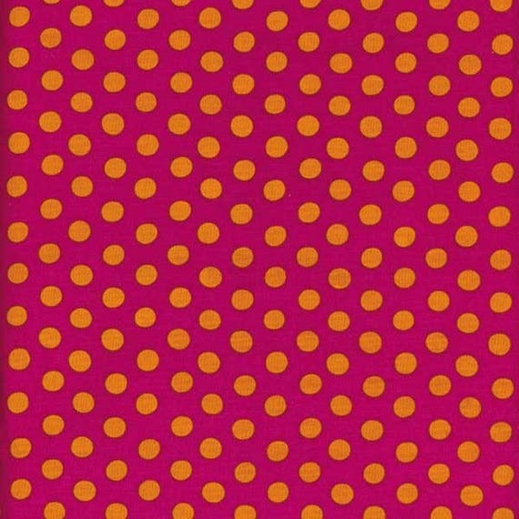 SPOT MAGENTA GP70 Kaffe Fassett Sold in 1/2 yard increments  - Multiples cut as one length  - USA based retailer