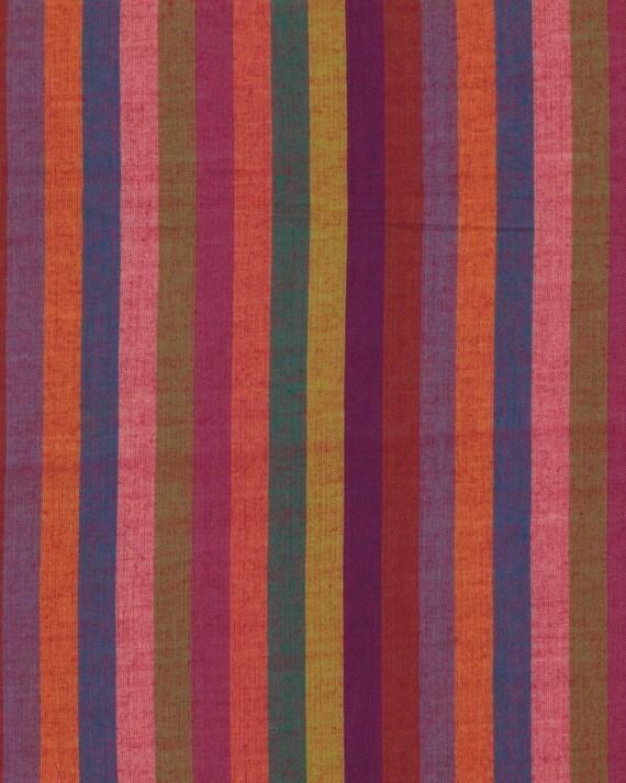 NARROW STRIPE  SPICE Woven narrow.spice  by  Kaffe Fassett fabric sold in 1/2 yard increments