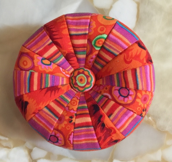 PDF Pattern for MINI TUFFET Pincushion by Sew Colorful -Pdf Download
