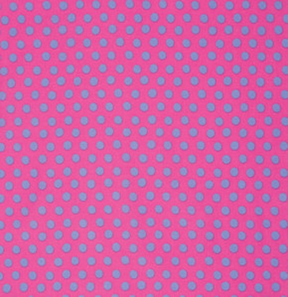SPOT SHOCKING PINK  GP070   Kaffe Fassett   - Sold in 1/2 yd increments - Multiple units cut as one length