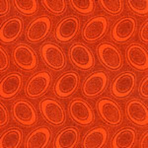 ABORIGINAL DOT GP71 Orange Kaffe Fassett  Sold in 1/2 yd increments