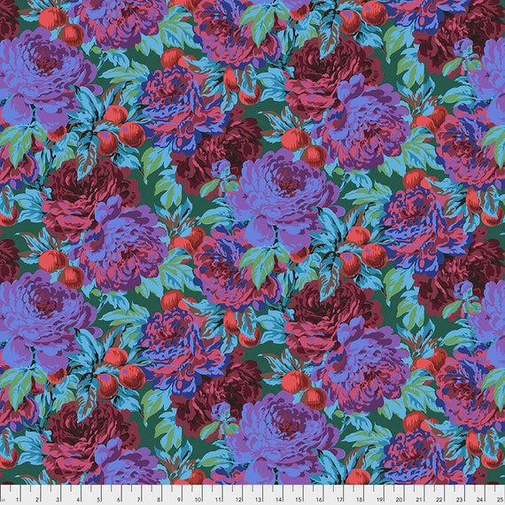 Feb 2020 Pre-Order Keep on Separate Order LUSCIOUS DARK PWPJ011 Philip Jacobs Kaffe Fassett Collective -  1/2 yd - Multiples cut one length