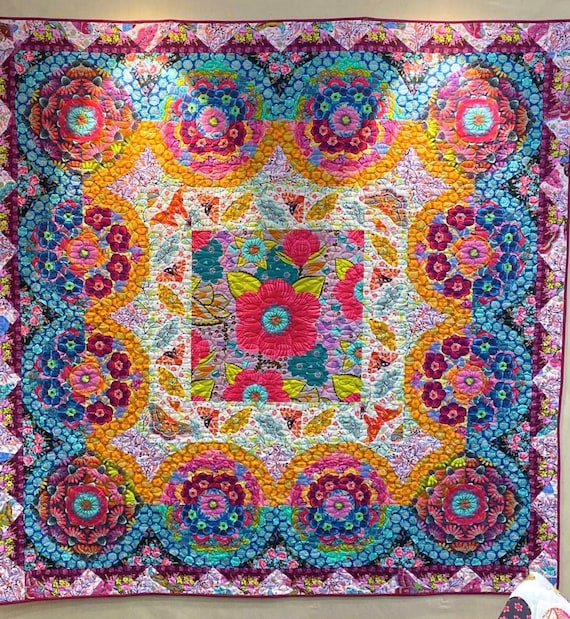 WHEELHOUSE QUILT KIT - Hindsight - Anna Maria Horner - Kit with Pdf pattern & Templates