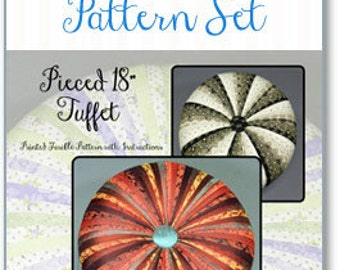 "18"" TUFFET REFILL PATTERN (no instructions included)  by Tuffetsource"