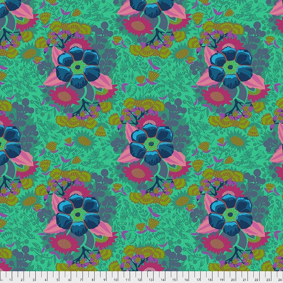 PIECEWORK SEA - Anna Maria Horner -Sold in 1/2 yd increments  - Multiples cut as one length  - USA based retailer