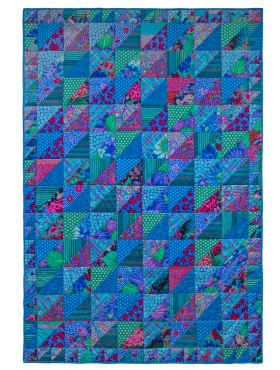Pre-Order OCEAN RIPPLES  Fabric Pack Quilts In Burano Kaffe Fassett Collective - Free US Shipping
