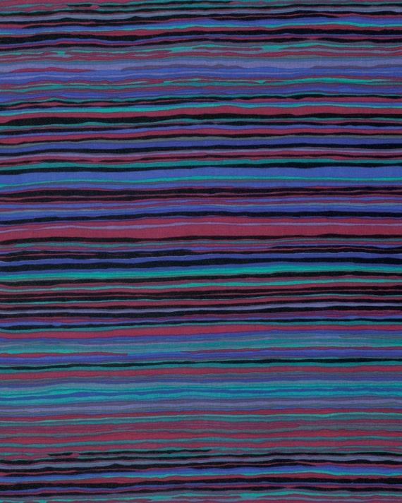 STRATA BLACK Kaffe Fassett Sold in 1/2 yd units Multiples cut in one length