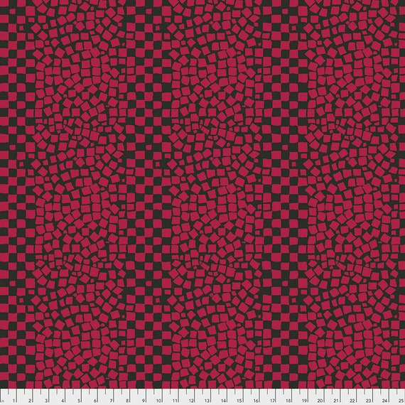 CHIPS CHARCOAL PWBM073 Brandon Mably for Kaffe Fassett Collective  Sold in 1/2 yard increments