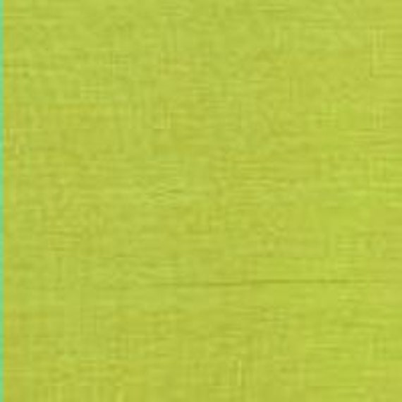 SHOT COTTON Lime sc43 Kaffe Fassett  - 1/2 yd - Multiples cut as one length