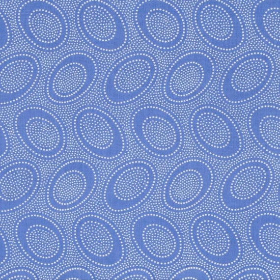 ABORIGINAL DOT Delft GP71  by Kaffe Fassett  in 1/2 yard increments