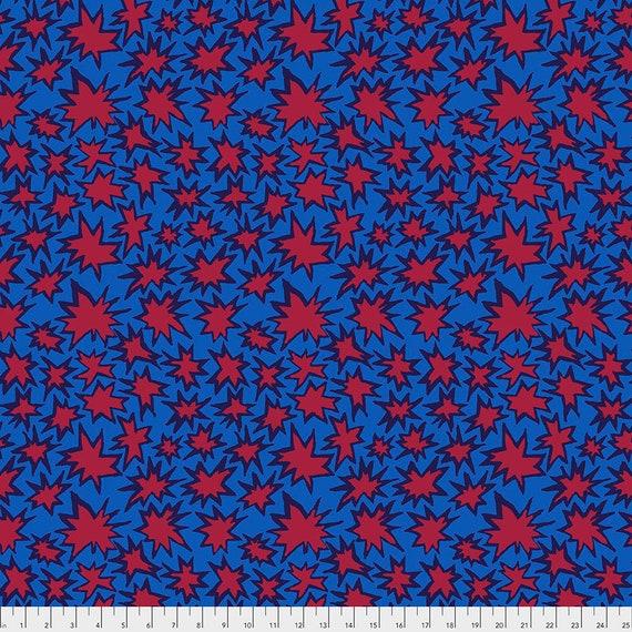 BANG BLUE pwbm72 Brandon Mably Kaffe Fassett Collective -  - Multiples cut as one length