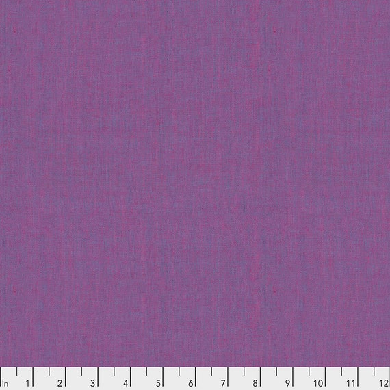 SHOT COTTON LUPIN  New Woven scgp113.lupin  Kaffe Fassett Sold in 1/2 yd units - Multiples cut as one length