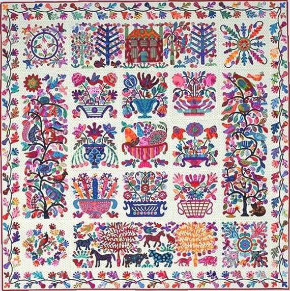 ROSEVILLE ALBUM   Kim McLean  - Applique pattern
