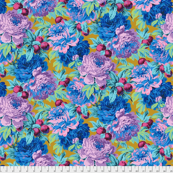 LUSCIOUS OCHRE PWPJ011 Philip Jacobs Kaffe Fassett Collective -  1/2 yd - Multiples cut one length  - USA based retailer