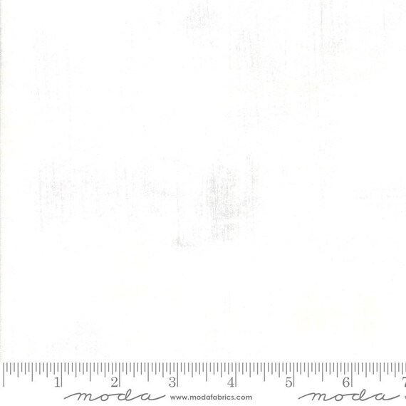 1/2 yd GRUNGE Soft Clear Water WHITE Moda Basics 30150 541 - Sold in 1/2 yd increments - Multiple units cut as one length