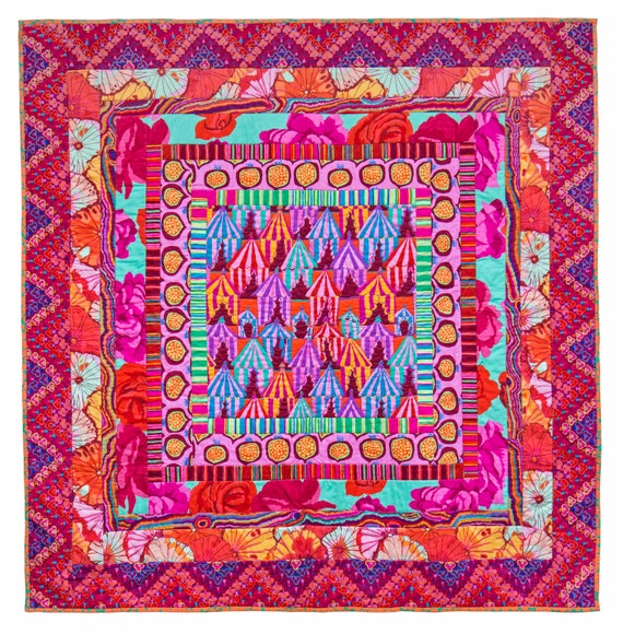 GLAMPING MEDALLION Quilt Fabric Pack  - Quilts In The Cotswolds  -  Kaffe Fassett Collective