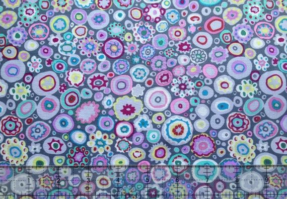 PAPERWEIGHT Grey GP20 Kaffe Fassett fabric sold in 1/2 yd increments