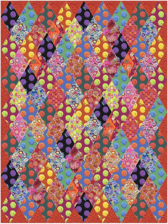 SNOOKERED Quilt Kit  Kaffe Fassett Collective February 2020 - FREE Shipping