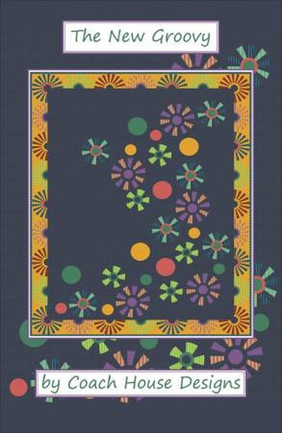 THE NEW GROOVY Quilt Kit  Kaffe Fassett Collective - Free Shipping