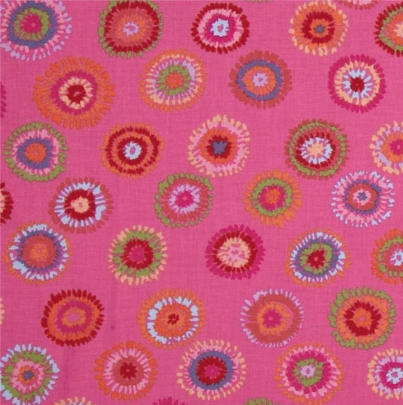 PLINK PINK PWGP109 Kaffe Fassett Sold in 1/2 yd increments