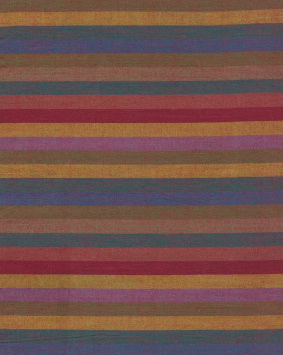 NARROW STRIPE  EARTH Woven narrow.earth Kaffe Fassett  1/2 yd - Multiples cut continuously  Multiples cut as one length