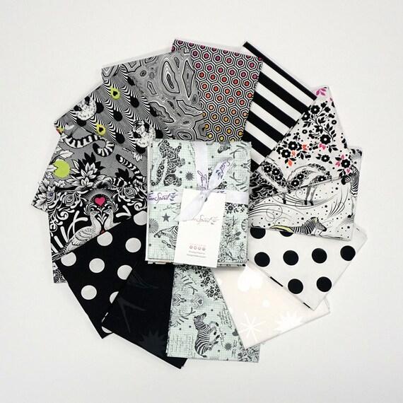 Pre-Order LINEWORK FQ Pack - Tula Pink  Full collection 13 SKU's - Fat Quarter Bundle