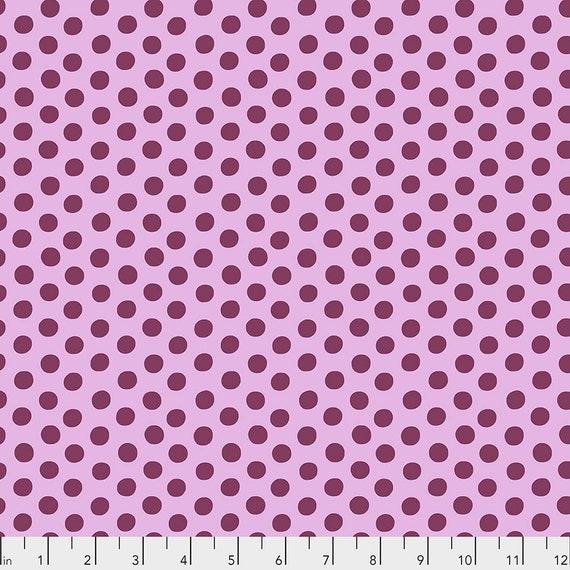 SPOT MAUVE PWGP70  Kaffe Fassett - Sold in 1/2 yd increments - Multiple units cut as one length