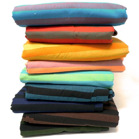 9 x 1/4 yard WIDE STRIPE Shot Cotton Fabric Pack ssgp001  Kaffe Fassett - Free US Shipping