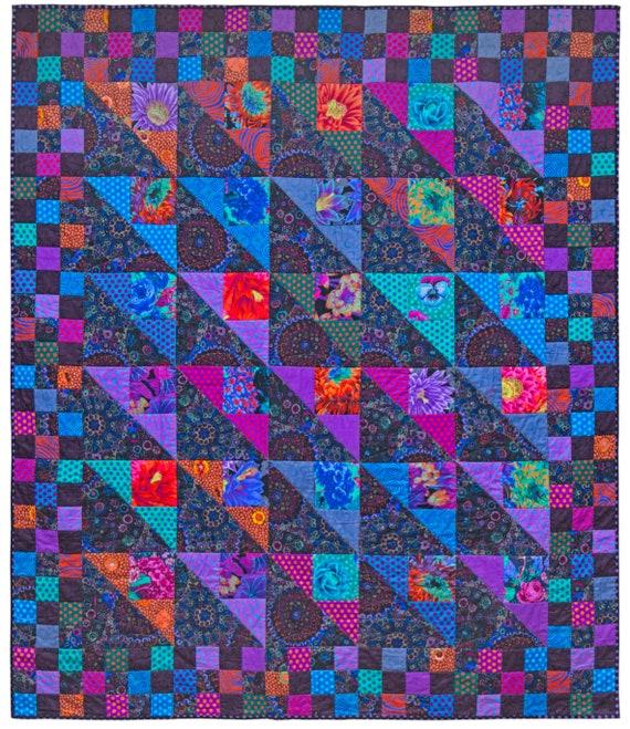 Pre-Order DARK GARDEN Quilt Fabric Pack - Quilts In Burano -Kaffe Fassett Collective