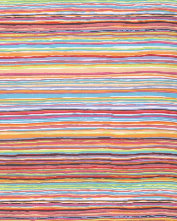 STRATA SUMMER Kaffe Fassett Sold in 1/2 yd units Multiples cut in one length
