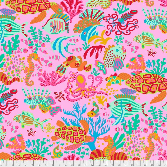 SCUBA Pink Brandon Mably PWBM064.PINK  Sold in 1/2 yard increments item