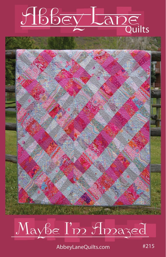 AMAZED Quilt Kit  Design by Abbey Lane Quilts - All Kaffe Fassett Collective fabrics - Free Shipping