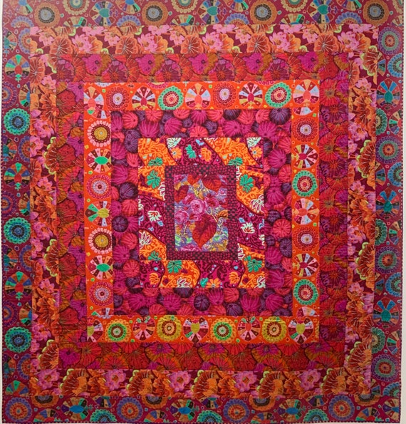FLAMING HELL - In-Stock - READ Info before ordering!  Quilt Fabric Pack - Quilts In Burano - Kaffe Fassett Collective