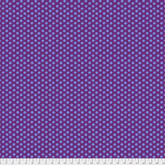 SPOT EGGPLANT Item PWGP070.EGGPL Kaffe Fassett Collectives  1/2 yd - Multiples cut continuously
