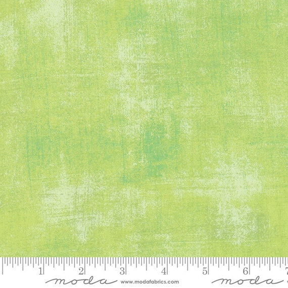 1/2 yd GRUNGE KEY LIME  Moda Basics 30150 303 -  Sold in 1/2 yd increments - Multiple units cut as one length
