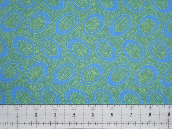 ABORIGINAL DOT Ocean GP71  by Kaffe Fassett sold in 1/2 yard increments