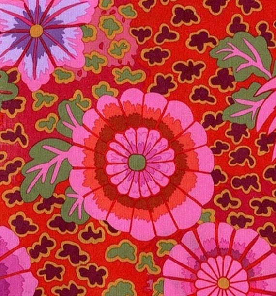 DREAM MAGENTA Pink PWGP148 Kaffe Fassett   1/2 yd - Multiples cut as one length  - USA based retailer