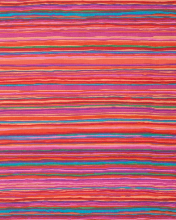 STRATA RED Kaffe Fassett Sold in 1/2 yd units Multiples cut in one length