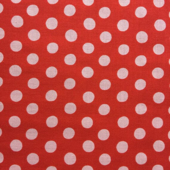 SPOT TOMATO by Kaffe Fassett Sold in 1/2 yd increments