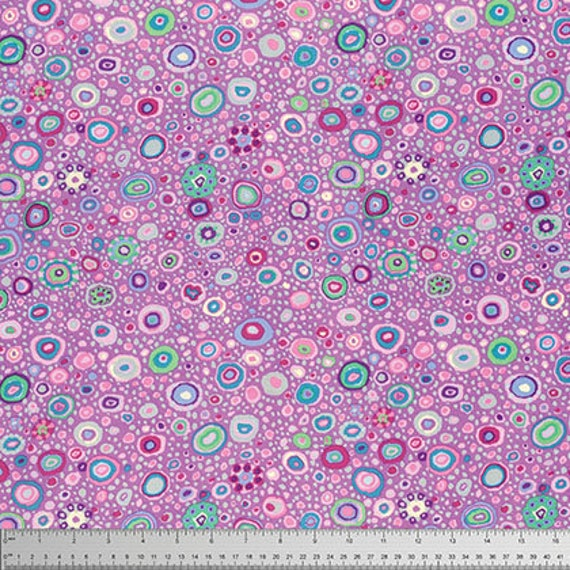 ROMAN GLASS Lavender Purple Kaffe Fassett Collective -  Sold in 1/2 yard increments