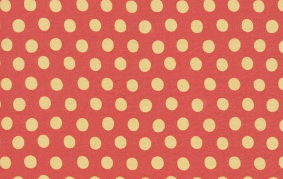 SPOT PAPRIKA Tomato Kaffe Fassett - Sold in 1/2 yd increments - Multiples cut as one length