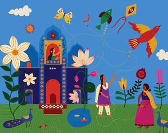 11x14 - An Indian summer - Fine Art Giclee Print